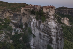 Meteora by Moon Light